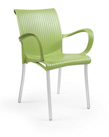 Colby Fauteuil vert mousse