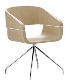 Apple Fauteuil - 4 pieds pyramide